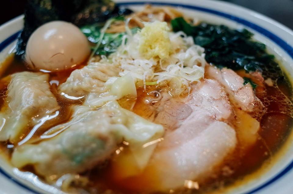 生姜醤油ラーメン 波音食堂 (2)